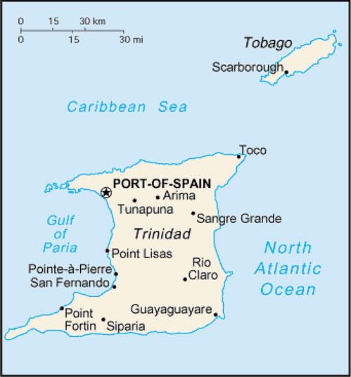 Где находится тринидаде