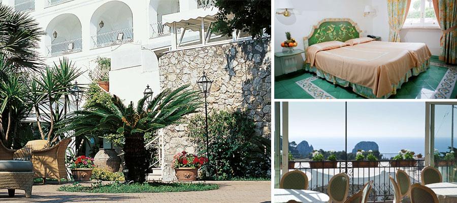 Отель располагается в 200 м от площади Пьяццетта города Капри ef66491543e49