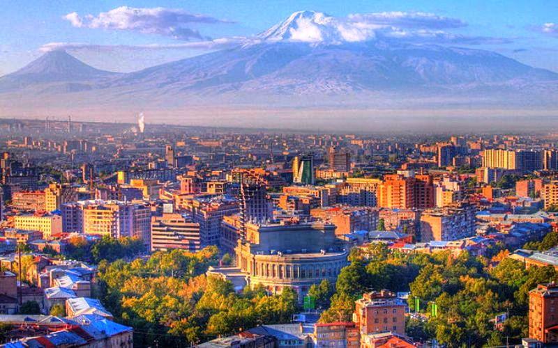 Ереван входит в пятерку популярных у российских туристов городов СНГ