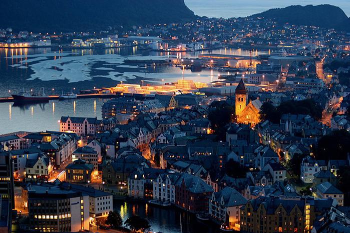 осло фото города